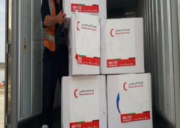 مساعدات إماراتية تصل إلى نظام الأسد للمرة الثانية خلال أسبوع