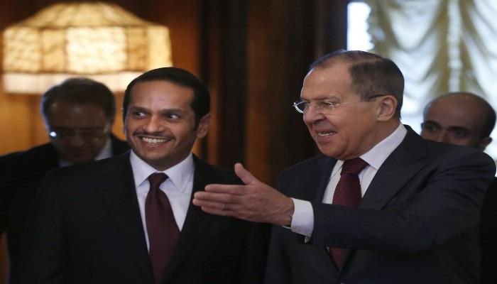 وزيرا خارجية قطر وروسيا يبحثان النزاعات المستمرة في الشرق الأوسط