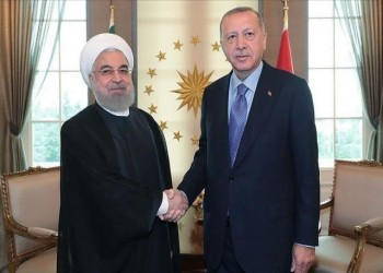 اجتماع مجلس الأعمال التركي الإيراني بمشاركة أردوغان وروحاني