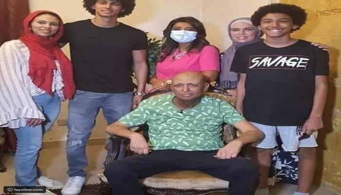 تعاطف مع ممثل مصري ظهر بشكل صادم بعد إصابته بالسرطان (فيديو)