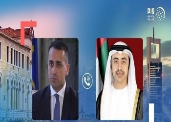وزير الخارجية الإماراتي يبحث مع نظيره الإيطالي التطورات في ليبيا