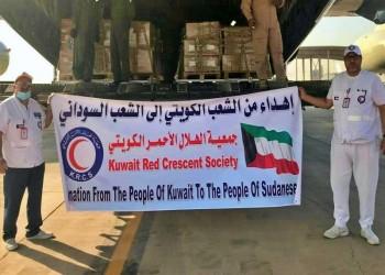 الهلال الأحمر الكويتي يرسل أول طائرة إغاثة إلى السودان