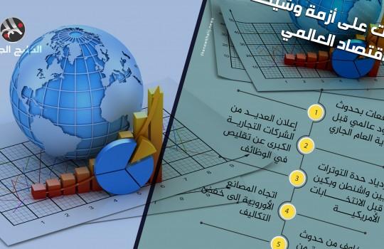 5 مؤشرات على أزمة وشيكة بالاقتصاد العالمي