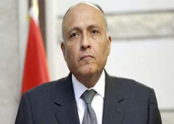 وزير الخارجية المصري يطالب تركيا بأفعال لفتح صفحة جديدة بين البلدين