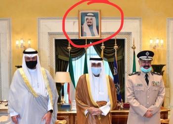 فجر السعيد تسأل: أين صورة أمير الكويت؟