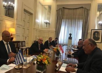 مباحثات موسعة بين وزيري خارجية مصر واليونان