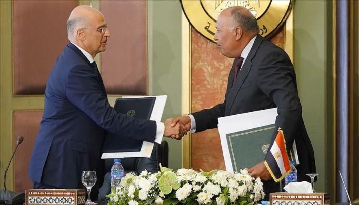 اتفاق مصري يوناني على استكمال مفاوضات شرق المتوسط