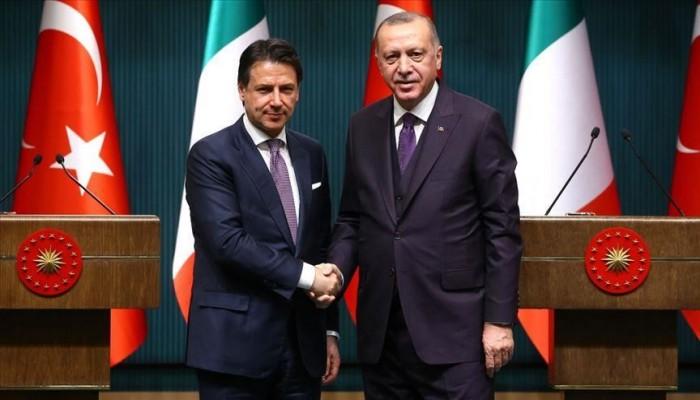 هاتفيا.. أردوغان وكونتي يبحثان العلاقات الثنائية وقضايا إقليمية