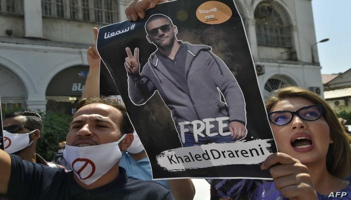 السجن عامين لصحفي شارك في تغطية الحراك الجزائري