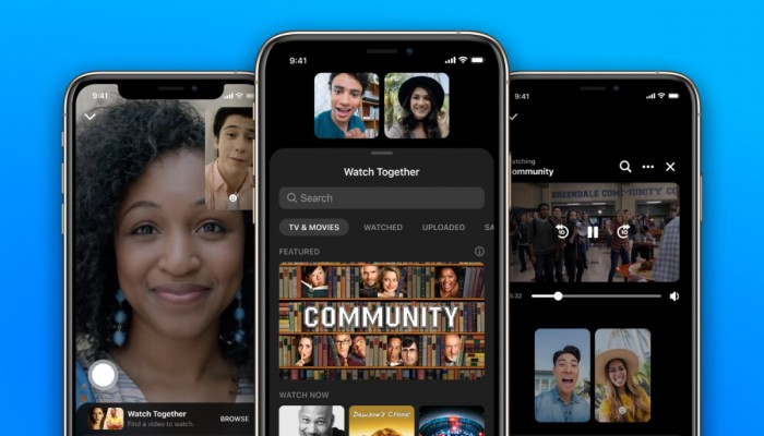 فيسبوك يضيف خاصية المشاهدة الجماعية للفيديوهات على ماسنجر