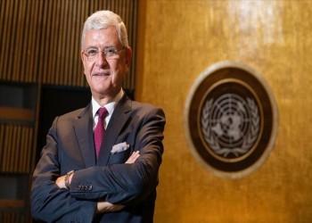 دبلوماسي تركي يبدأ مهامه رئيسا للدورة 75 للأمم المتحدة