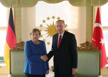 أردوغان لميركل: يجب على أوروبا أن تكون عادلة بمسألة شرق المتوسط