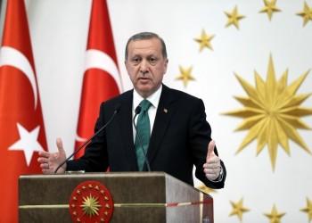 أردوغان يؤكد وجود محادثات استخباراتية بين تركيا ومصر