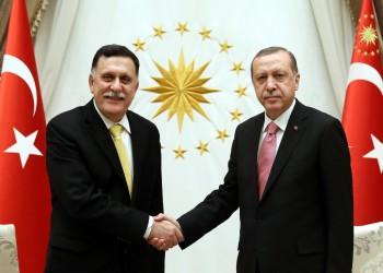 أردوغان يعرب عن أسفه حيال إعلان السراج عزمه الاستقالة
