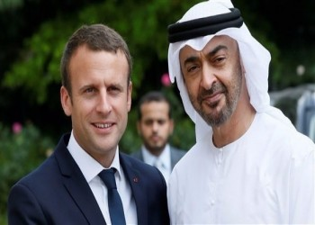 بن زايد وماكرون يبحثان جهود السلام في المنطقة وأهمية التطبيع
