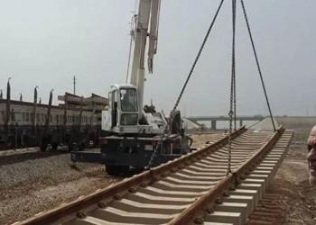 الأول من نوعه بالموصل.. مد خط سكة حديد بين العراق وتركيا