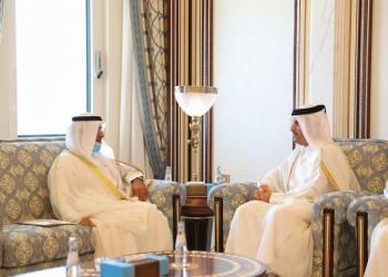 وزير خارجية قطر يستقبل أمين عام التعاون الخليجي بالدوحة