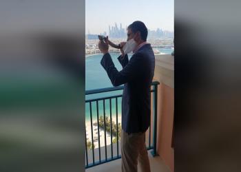 أول حاخام يهودي ينفخ الشوفار في الإمارات احتفالا برأس السنة العبرية