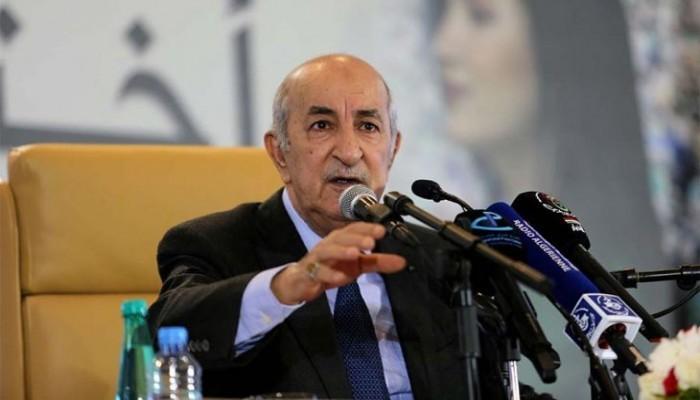 رئيس الجزائر: لن نطبع مع إسرائيل.. ولن نبارك هرولة بعض الدول للتطبيع معها