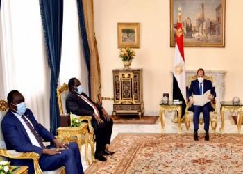 السيسي يبحث مع مستشار رئيس جنوب السودان أزمة سد النهضة
