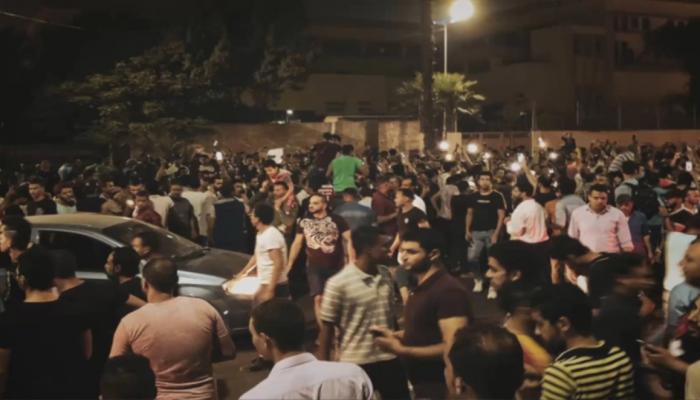 أكثر من 200 معتقل في المظاهرات المطالبة برحيل السيسي