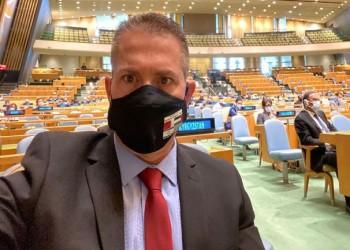 مندوب إسرائيل بالأمم المتحدة يغادر القاعة خلال كلمة أردوغان (فيديو)