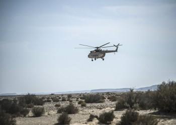 سقوط مروحية تقل مرتزقة فاجنر قرب قاعدة الجفرة وسط ليبيا