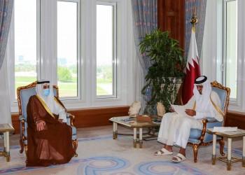 الوساطة تتكثف.. أمير قطر يتلقى رسالة من ولي عهد الكويت حول الأزمة الخليجية
