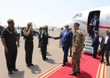 """البرهان يؤكد: بحثنا مع واشنطن رفع السودان من قائمة الإرهاب و""""السلام"""" مع إسرائيل"""