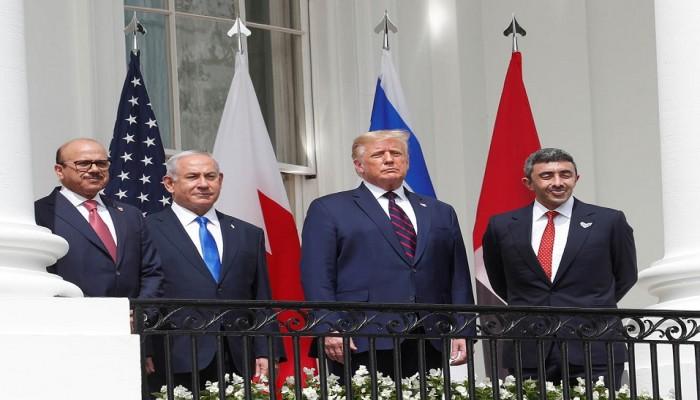 معهد إسرائيلي: محوري إيران-الصين وتركيا- قطر وراء التطبيع الإماراتي والبحريني