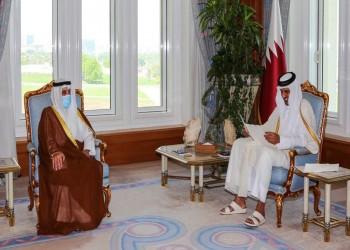 رسالة الكويت لأمير قطر: جهودنا متواصلة لرأب الصدع الخليجي