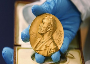 زيادة قيمة جائزة نوبل 110 آلاف دولار