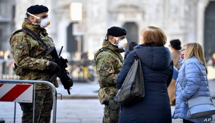 وزير الصحة الإيطالي يحذر من وضع أصبح خطيرا لكورونا