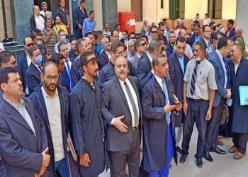 احتجاج محامين مصريين ضد فرض ضريبة على أتعابهم (فيديو)