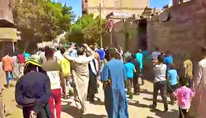 اندلاع احتجاجات جمعة الغضب في قرى مصرية