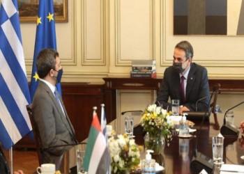 بن زايد في اليونان.. الإمارات تواصل تحركاتها المناهضة لتركيا