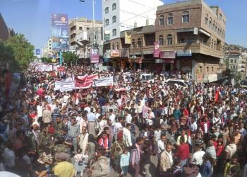 بذكرى ثورة سبتمبر.. آلاف اليمنيين يطالبون باستكمال تحرير تعز