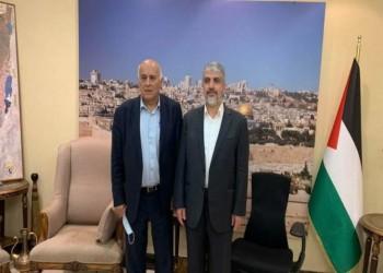 وفد فتح يختتم زيارته إلى الدوحة باجتماع مع قيادات حماس