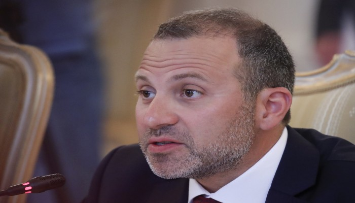 إصابة وزير خارجية لبنان السابق جبران باسيل بفيروس كورونا