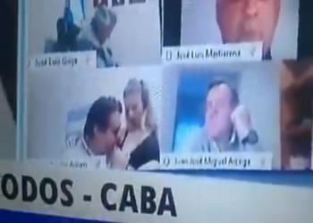 استقالة نائب أرجنتيني بعد مشهد إباحي.. ماذا حدث؟