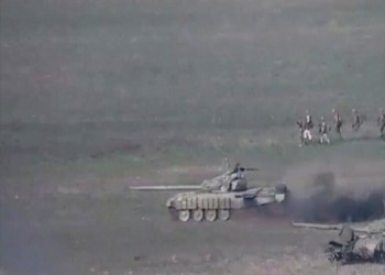 الجيش الأذربيجاني يتقدم عسكريا بإقليم قره باغ المحتل من أرمينيا