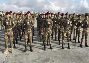 فرقة تابعة للجيش الصومالي تنهي تدريبا في تركيا