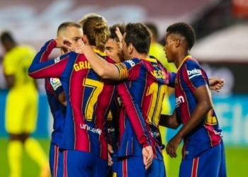 برشلونة يفتتح الليجا بفوز كبير على فياريال (فيديو)