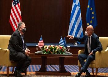 بومبيو يبحث في اليونان تطورات شرق المتوسط