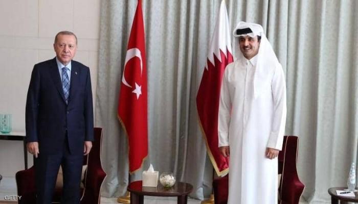 أردوغان يهاتف تميم لبحث تعزيز العلاقات الاستراتيجية