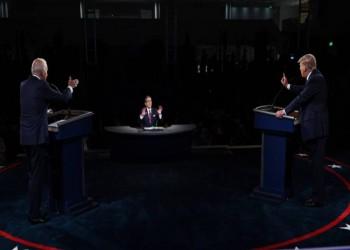 فوضى وسجال وسباب في المناظرة الأولى بين ترامب وبايدن