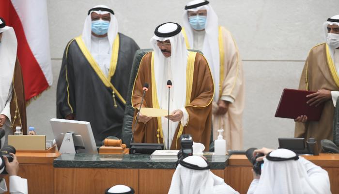 نواف الأحمد يؤدي اليمين الدستورية أميرا للكويت
