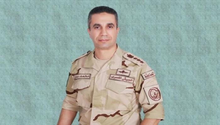 رغم حذف مقاله.. بلاغ يلاحق المتحدث العسكري المصري السابق