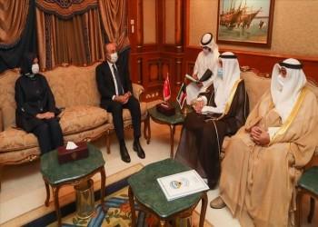 جاويش أوغلو في الكويت لتقديم واجب العزاء في الأمير الراحل