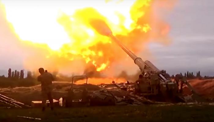 بوتين وترامب وماكرون يدعون لوقف إطلاق النار بقره باغ